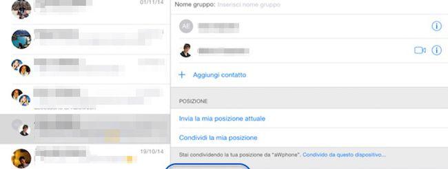 iOS 8, gestire SMS, MMS e iMessage di Gruppo e disattivare le notifiche