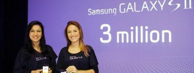 Samsung Galaxy S II, è record di vendite