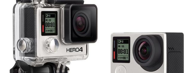 GoPro annuncia HERO4: più potenti, con video 4K