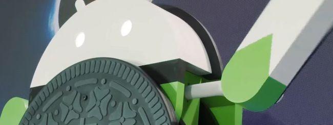 Android Oreo: il making of della statua