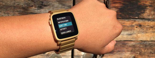 Pebble Time, disponibile il firmware 3.4
