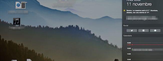 OS X Yosemite, ecco i migliori Widget  per il Centro Notifiche