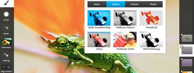 Adobe Photoshop Touch da oggi su iPad 2