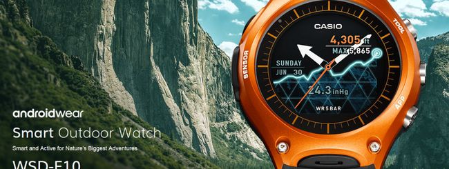CES 2016: Casio WSD-F10, smart outdoor watch