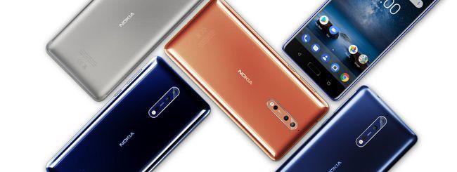 Nokia 8, versione con 6 GB di RAM ad ottobre