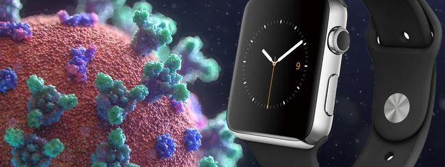 Apple Watch diagnostica Covid-19 prima del tampone