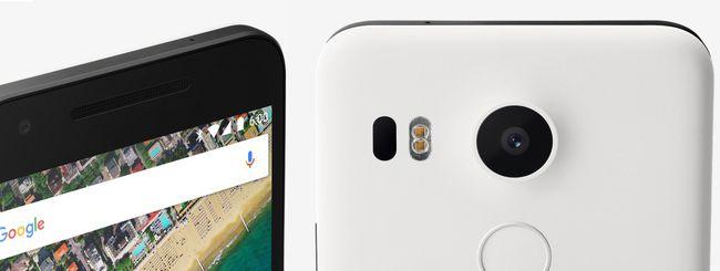 Il Nexus 5X è disponibile in Italia