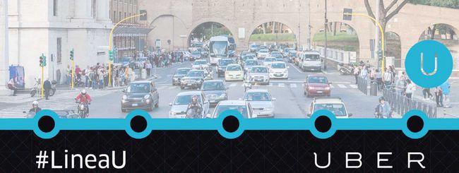 Linea U: Uber torna con le fermate fai da te