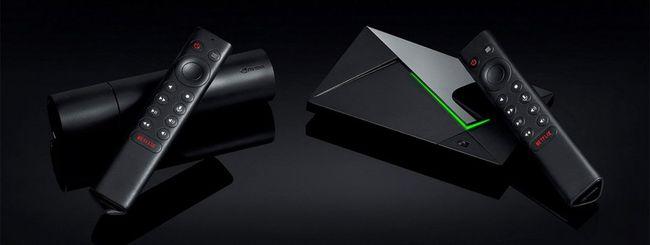 Nvidia Shield TV 2019 e Pro ufficiali, i prezzi