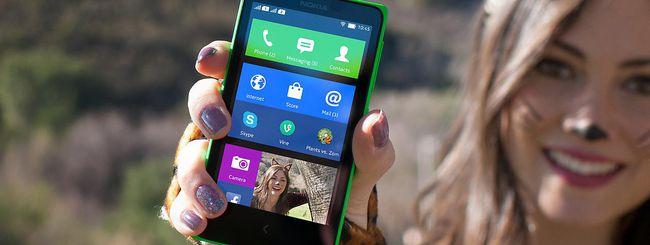 Nokia X, disponibile un nuovo aggiornamento