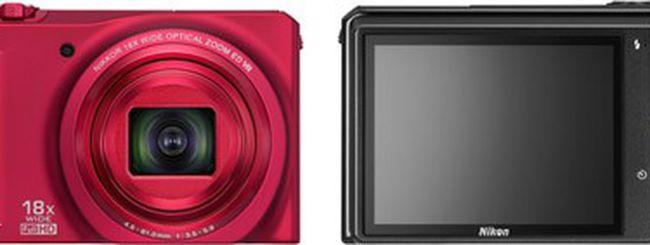 Nikon Coolpix S9100, superzoom compatta da 12,1 MP