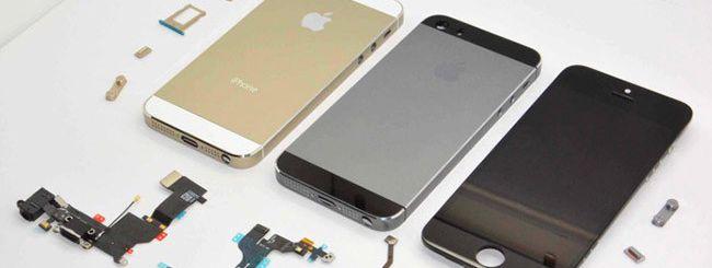 iPhone 5S: dopo l'oro, anche color grafite?
