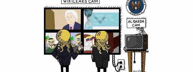 La NSA ha spiato i visitatori di Wikileaks