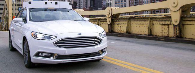 Ford, self-driving car