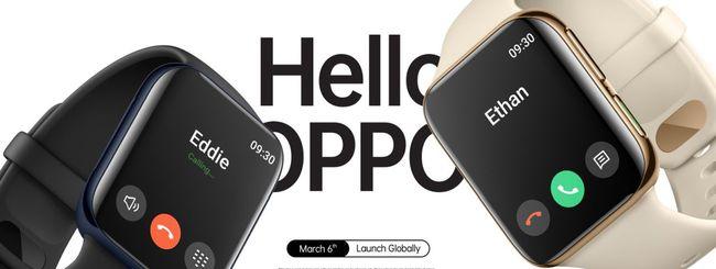 Oppo Watch Series, annuncio il 6 marzo