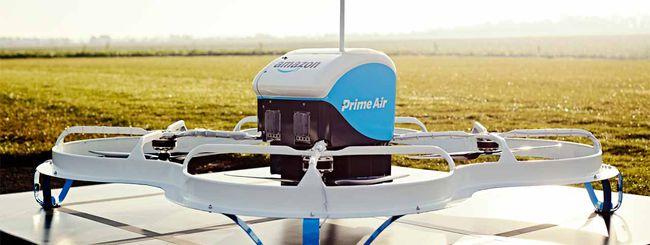 I droni di Amazon consegneranno con il paracadute