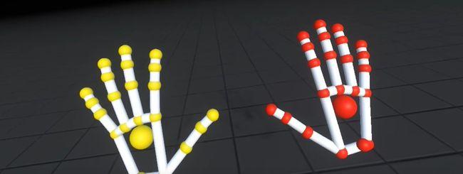 Leap Motion Orion, hand tracking per visori VR