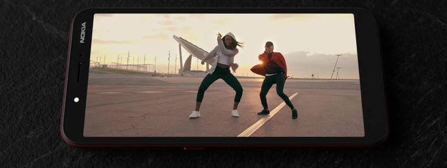 Nokia C1, nuovo smartphone Android Go