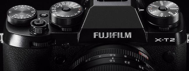 Fujifilm X-T2: mirrorless da 24,3 MP con video 4K