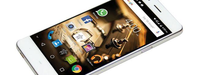 Mediacom PhonePad Duo B500, la batteria è big