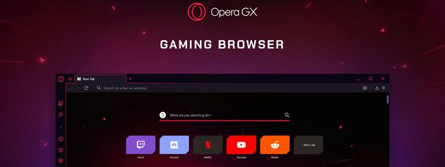 Opera GX, browser per il gaming