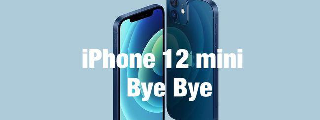 iPhone 12 mini condannato all'estinzione: vendite deludenti