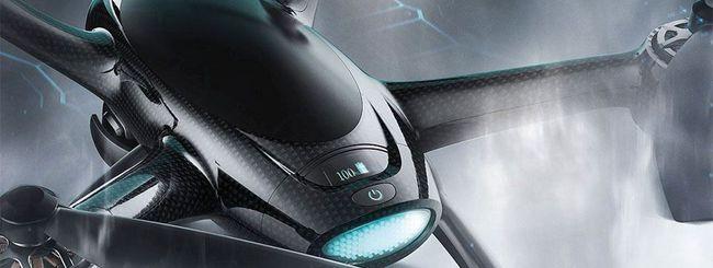 CES 2017, drone XDynamics Evolve con dual screen
