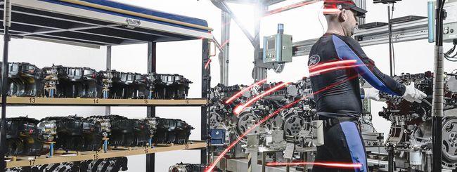Body tracking per i dipendenti degli impianti Ford