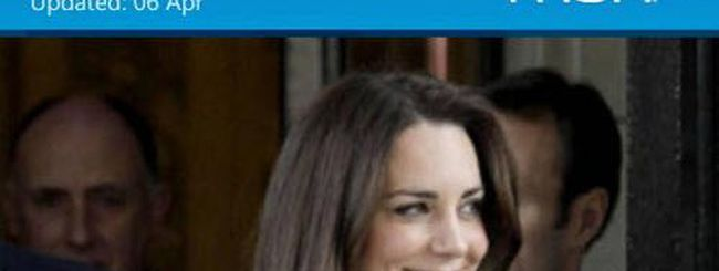 Matrimonio tra William e Kate, diretta e differita su Windows Phone 7