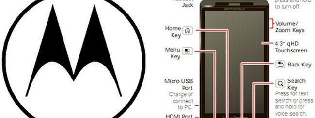 Motorola Droid X 2: display qHD e CPU dual core