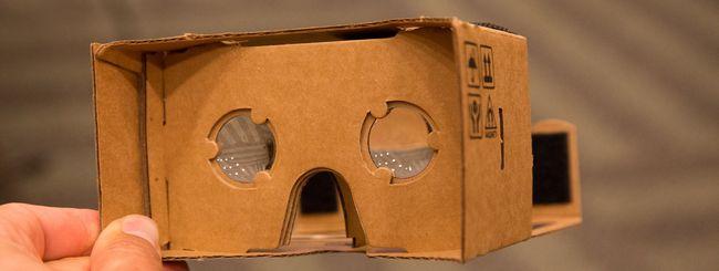 Google Cardboard, la realtà virtuale con un cartone