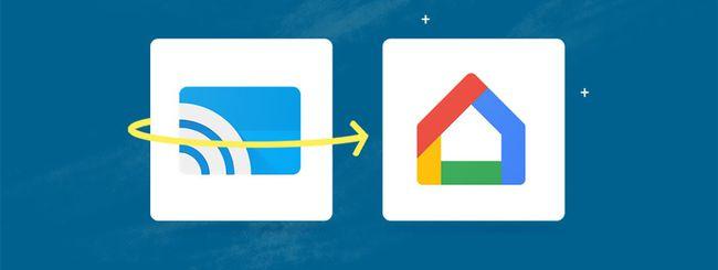 L'applicazione Google Cast diventerà Google Home