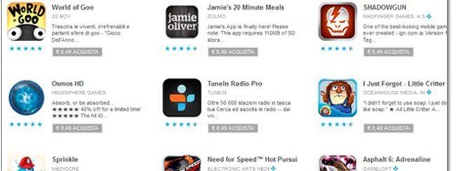 Google Play, 25 applicazioni scontate in download