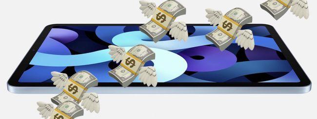 iPad Air 2020: importante redesign ma costa caro