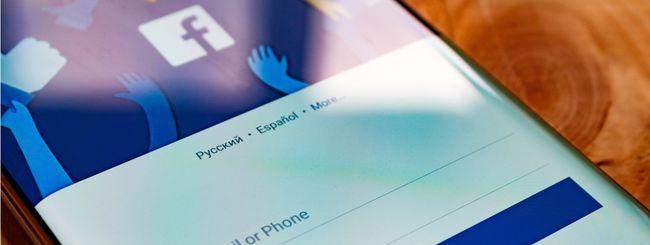 Facebook: in 10 milioni hanno visto i post russi