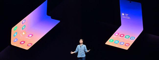 Samsung conferma il Galaxy Fold 2 a conchiglia