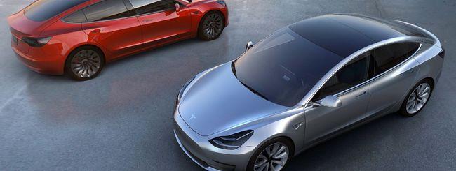 Tesla Model 3 non avrà la batteria da 100kWh