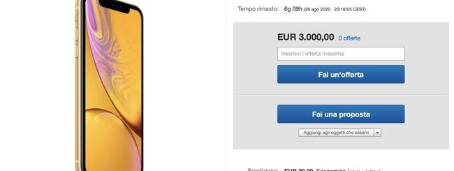eBay, iPhone con Fortnite preinstallato a prezzi da capogiro