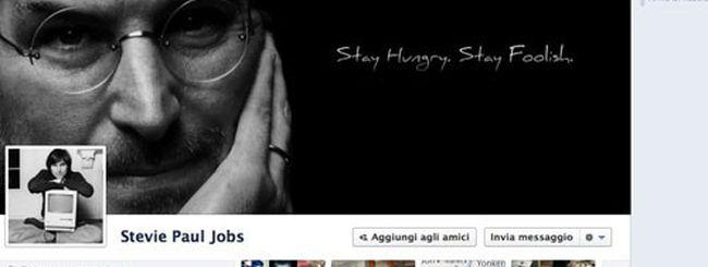 Steve Jobs eliminato da Facebook?