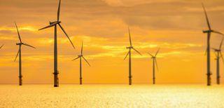 Impianto eolico offshore