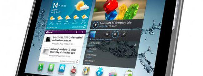 MWC 2012: Samsung Galaxy Tab 2 10.1 e Galaxy Beam