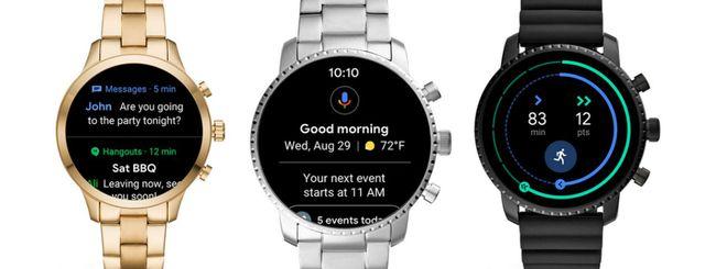 Google modifica l'interfaccia di Wear OS