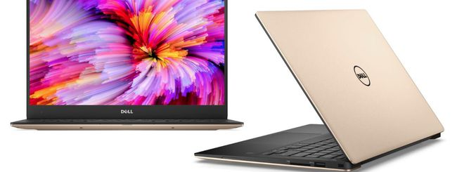 Dell aggiorna XPS 13 con Intel Kaby Lake