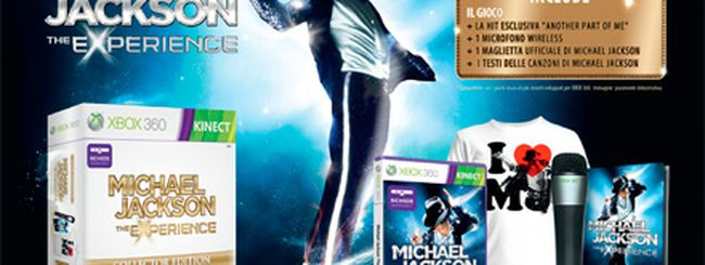 Michael Jackson: The Experience Collector Edition per Xbox 360