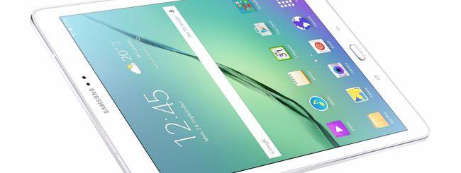 Samsung annuncia i Galaxy Tab S2