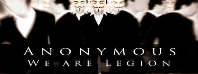 Gli Anonymous attaccano la CIA