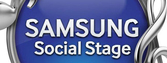 Samsung Mobile lancia Samsung Social Stage