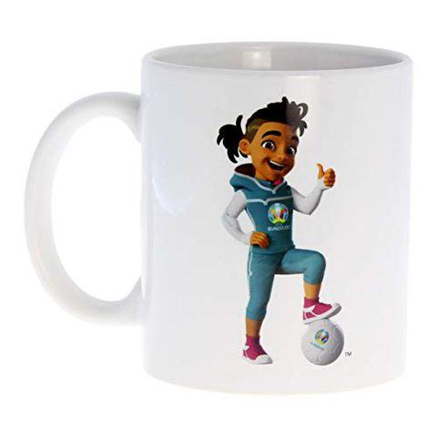 UEFA Euro 2020 - Tazza da caffè con skillzy e Logo Ufficiale
