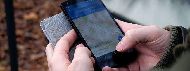 Google Maps per Android, orario partenza e arrivo