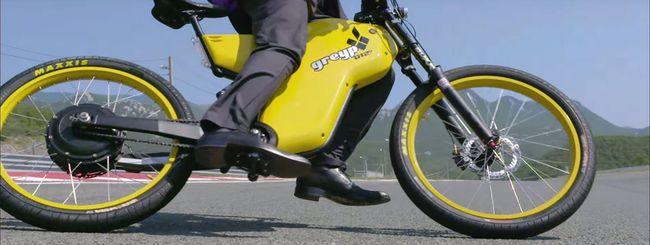 Greyp Bikes G12S, e-bike con lettore di impronte